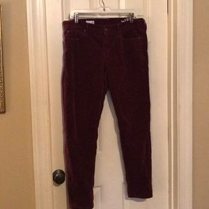 Super stretchy corduroy leggings jeans by gap
